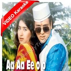 Aa aa ee oo oo oo Mera Dil Na Todo - Mp3 + VIDEO Karaoke - Abhijeet - Alka