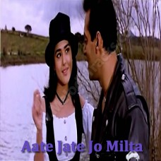 Aate Jaate Jo Milta - Karaoke Mp3 - Har Dil Jo Pyar Karega - Sonu Nigam - Alka - 2000