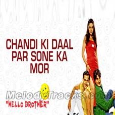 Chandi ki daal per - Karaoke Mp3 - Hello Brother - Alka Yagnik