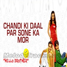 Chandi ki daal per - Karaoke Mp3 - Hello Brother - Alka Yagnik