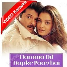 Hamara Dil Aapke Paas Hai - Mp3 + VIDEO Karaoke - Udit Narayan - Alka - 2000