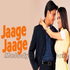 Jaage Jage - Karaoke Mp3 - Udit - Alka - Sonu - Mere Yaar Ki Shaadi Hai - 2002