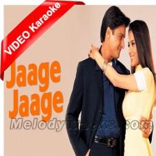 Jaage Jage - Mp3 + VIDEO Karaoke - Udit - Alka - Sonu - Mere Yaar Ki Shaadi Hai - 2002