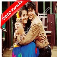 Jaati Hoon Main - Mp3 + VIDEO Karaoke - Alka - Karan Arjun - 1995 - Kumar Sanu