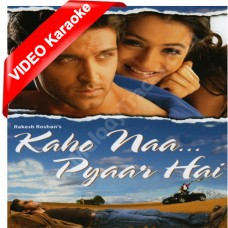 Kaho Na Pyar Hai - Mp3 + VIDEO Karaoke - Udit Narayan - Alka - 2000