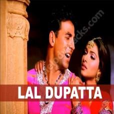Lal Dopatta - Karaoke Mp3 - Udit Narayan - Alka - Mujhse Shaadi Karo Gi - 2004