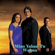 Main yahan tu wahan - Karaoke Mp3 - Bhaghban (2003) - Amitabh - Alka