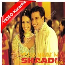 Mere yaar ki shaadi hai - Mp3 + VIDEO Karaoke - Udit Narayan - Alka