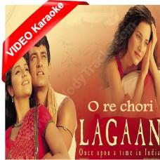 O Re Chhori - Mp3 + VIDEO Karaoke - Udit Narayan - Alka - Lagaan - 2001