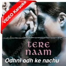 Odhni Odh Ke Nachoon - Mp3 + VIDEO Karaoke - Udit Narayan - Alka - Tere naam - 2005