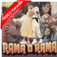 Rama o rama kese ye tu ne - MP3 + VIDEO karaoke - Amit Kumar