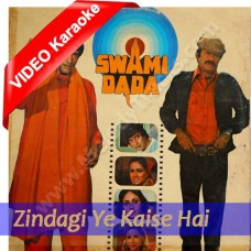 Zindagi ye kesi hai - MP3 + VIDEO karaoke - Amit Kumar- Asha