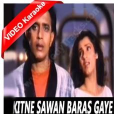 Kitne sawan baras gaye - Bees Saal Baad (1988) - MP3 + VIDEO Karaoke - Anuradha
