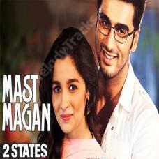 Mast Magan - Karaoke Mp3 - Arijit Singh - 2 states