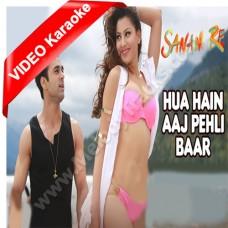 Hua hai aaj pehli baar - Sanam Re - Mp3 + VIDEO Karaoke - Armaan Malik - Palak Muchhal
