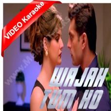 Wajah tum ho - Hate Story - MP3 + VIDEO Karaoke - Armaan Malik