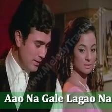Aao na gale lagao na - Karaoke Mp3 - Asha Bhonsle - Mere Jeevan Saathi (1972)