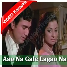 Aao na gale lagao na - Mp3 + VIDEO Karaoke - Asha Bhonsle - Mere Jeevan Saathi (1972)