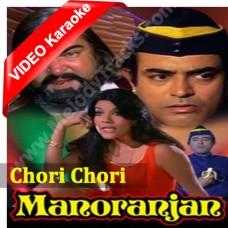 Chori chori solah singaar karoon gi - Mp3 + VIDEO Karaoke - Asha Bhonsle - Manoranjan (1974)