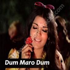 Dum Maro Dum - Karaoke Mp3 - Asha Bhonsle - Hare krishna hare rama (1971)
