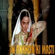 In aankhon ki masti ke - Karaoke Mp3 - Asha Bhonsle - Umrao jaan (1981)