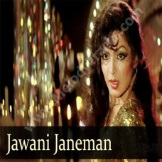 Jawani janeman - Karaoke Mp3 - Asha Bhonsle - Namak halaal