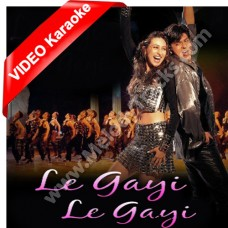 Le gayi le gayi dil le gayi - Mp3 + VIDEO Karaoke - Asha Bhonsle - Dil to pagal hai