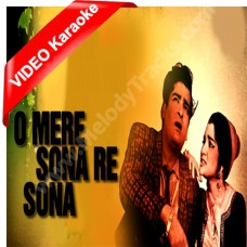 O Mere Sona Re Sona - Mp3 + VIDEO Karaoke - Teesri Manzil - 1966 - Rafi