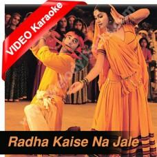 Radha Kaise Na Jale - Mp3 + VIDEO Karaoke - Udit Narayan - Asha - Lagaan - 2001