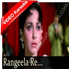 Rangeela re - Mp3 + VIDEO Karaoke - Asha Bhonsle - Rangeela