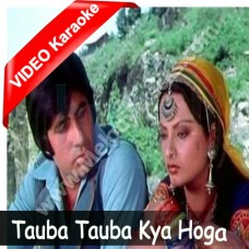 Tauba tauba kya hoga - Mp3 + VIDEO Karaoke - Asha Bhonsle - Mr Natwarlal