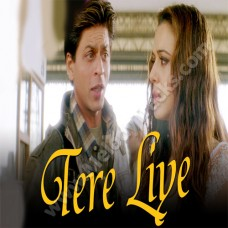 Tere liye - Veer Zara - Karaoke Mp3 - with Female Vocal - Lata - Roop Kumar Rathod