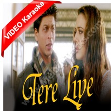 Tere liye - Veer Zara - Mp3 + VIDEO Karaoke - Lata - Roop Kumar Rathod