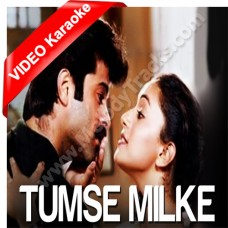 Tumse milke aisa laga - Version 1 - Mp3 + VIDEO Karaoke - Suresh Wadkar - Asha - Parinda (1989)