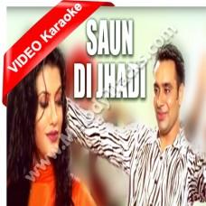 Saun di chadi ni lagi - Mp3 + VIDEO Karaoke - Babu Maan