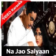 Na Jao Saiyan Chhuda Ke Baiyan - Mp3 + VIDEO Karaoke - Geeta Dutt - Sahib Bibi Aur Ghulam 1962
