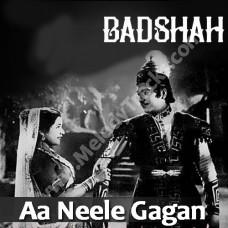 Aa neele gagan tale pyar - Karaoke Mp3 - Hemant Kumar - Lata
