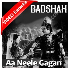 Aa neele gagan tale pyar - Mp3 + VIDEO Karaoke - Hemant Kumar - Lata