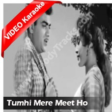 Tum hi mere meet - Mp3 + VIDEO Karaoke - Hemant Kumar