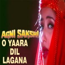 O yara dil lagana - Karaoke Mp3 - Kavita Krishnamurthy