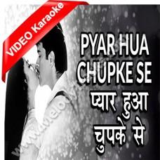 Pyar hua chupke se - Mp3 + VIDEO Karaoke - Kavita Krishnamurthy