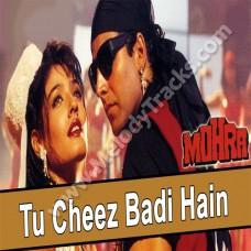 Tu cheez badi hai mast mast - Karaoke Mp3 - Udit Narayan - kavita - Mohra