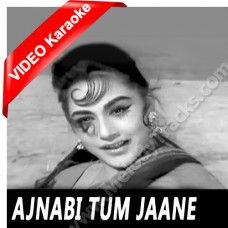 Ajnabi tum jane pehchane - Mp3 + VIDEO Karaoke - Kishore Kumar