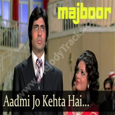 Aadmi jo kehta hai - Karaoke Mp3 - Kishore Kumar