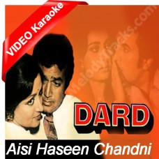 Aisi haseen chandni - Mp3 + VIDEO Karaoke - Kishore Kumar