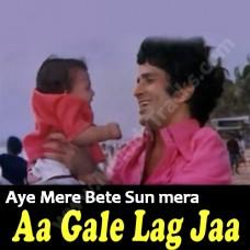 Aye mere bete sun mera kehna - Karaoke Mp3 - Kishore Kumar