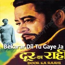 Beqarar Dil - Karaoke Mp3 - Kishore Kumar