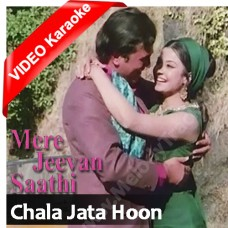 Chala jata hoon - Mp3 + VIDEO Karaoke - Kishore Kumar