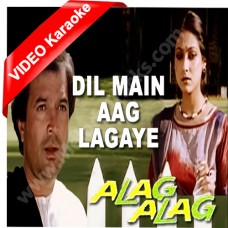 Dil mein aag lagaye - Mp3 + VIDEO Karaoke - Kishore Kumar