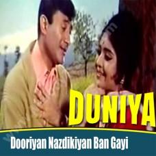 Doorian nazdikiyan ban - Karaoke Mp3 - Kishore Kumar
